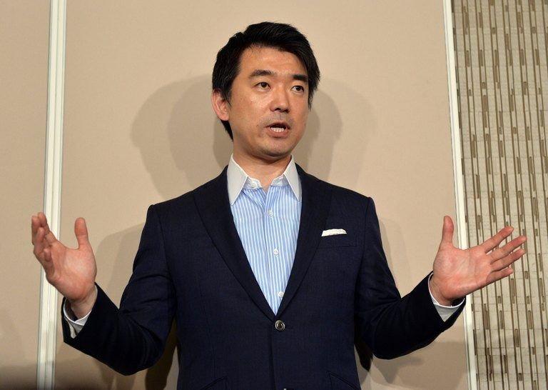 Former Osaka City Mayor Hashimoto Toru.