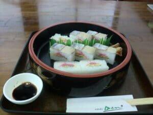 How to Make Hakozushi: restaurant
