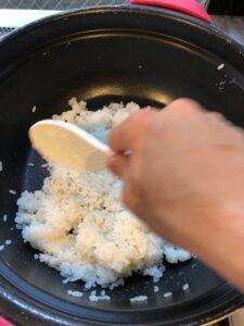 How to Make Hakozushi: sushi rice