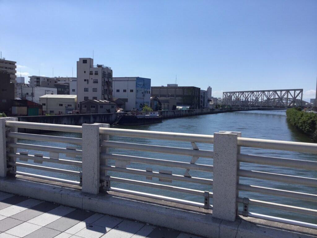 Taisho Bridge demonstrates a significant landmark in Taisho