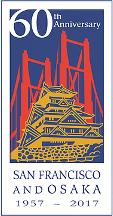 Logo of the SF-Osaka Sister City Association. Source: SF-Osaka Sister City Association https://www.sf-osaka.org/