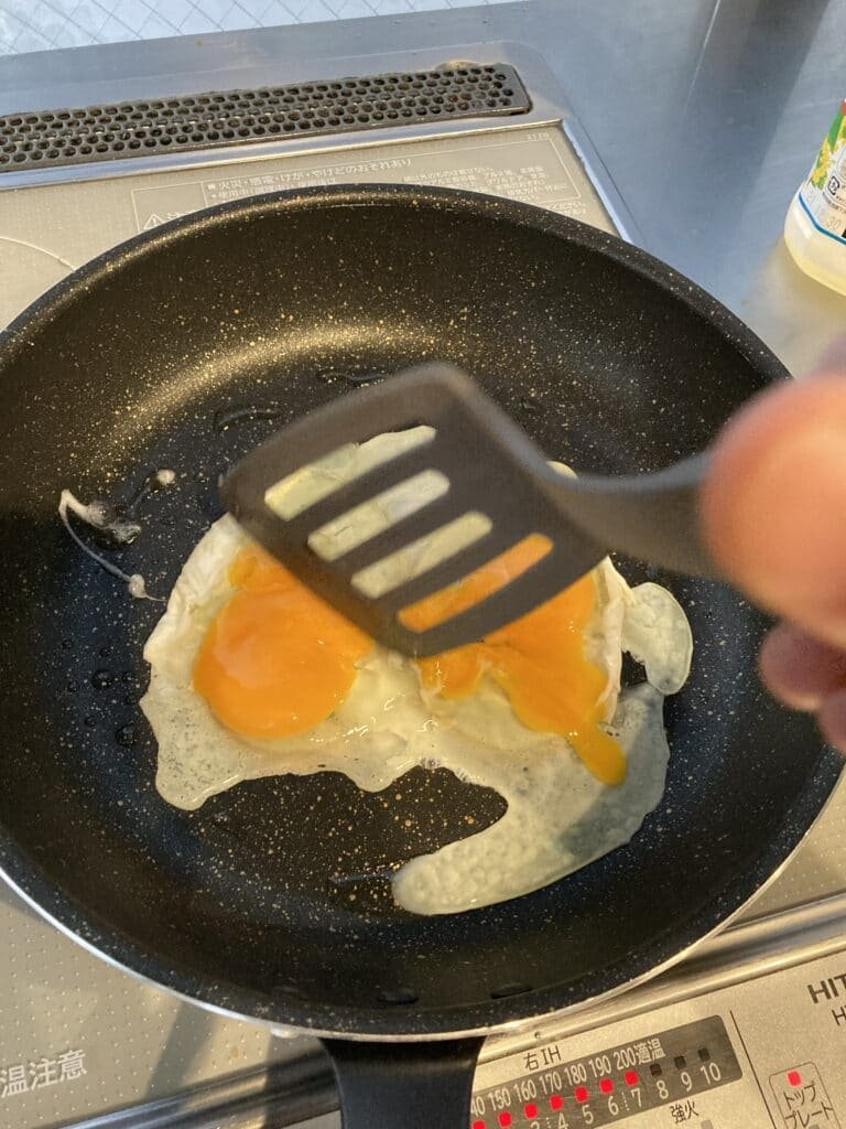 How to make osaka squid: egg