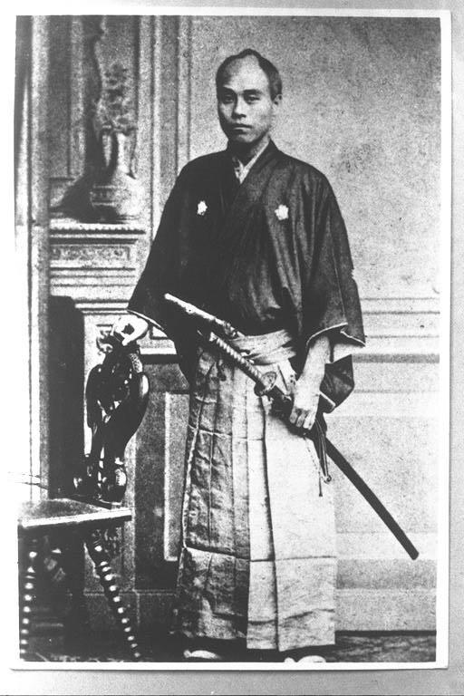 Photograph of Fukuzawa Yukichi in Berlin. Source: Wikipedia https://commons.wikimedia.org/wiki/File:Yukichi_Fukuzawa_Berlin.jpg