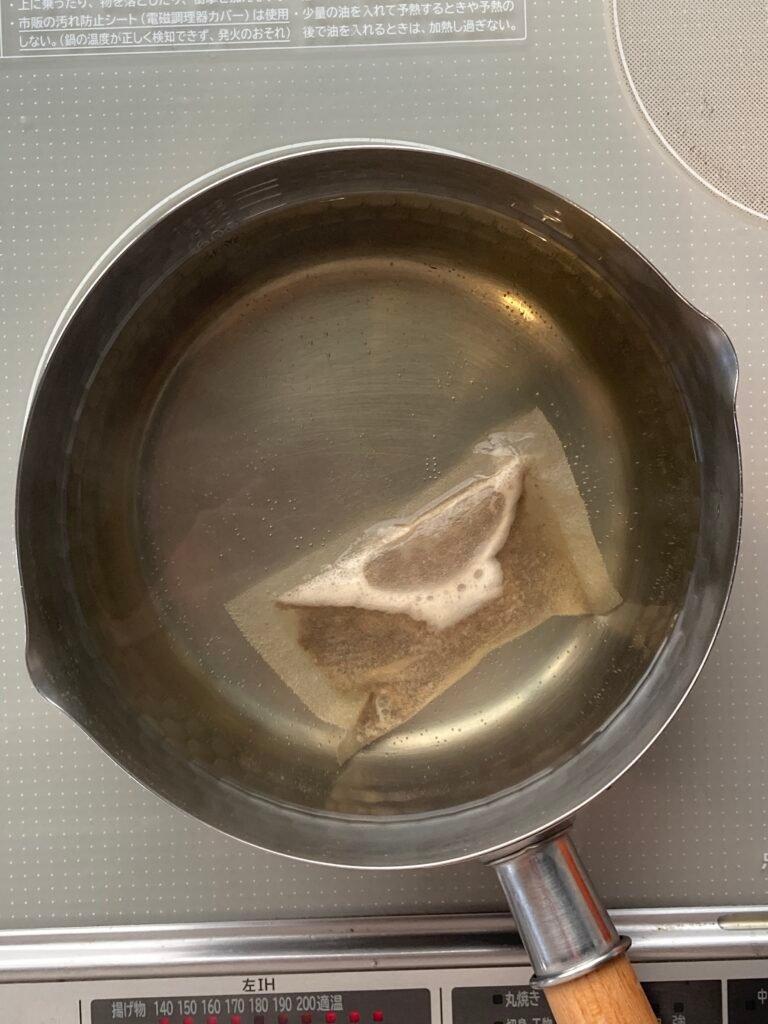 How to make Udon Suki: Dashi