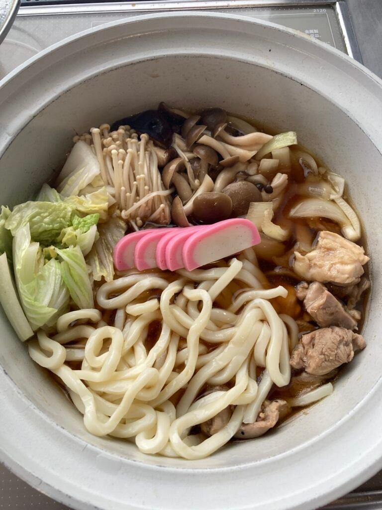 How to make Udon Suki: udon