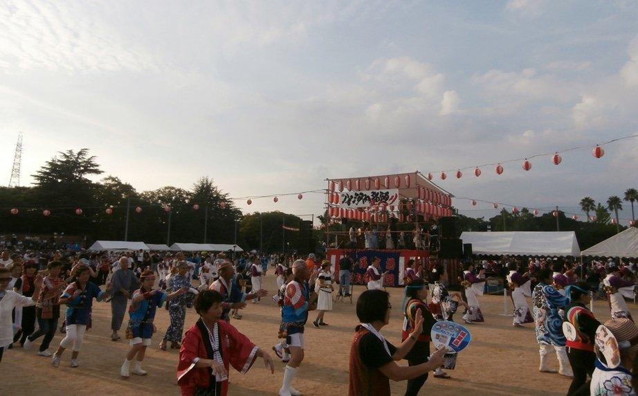 The Yao Kawachi Ondo Festival.